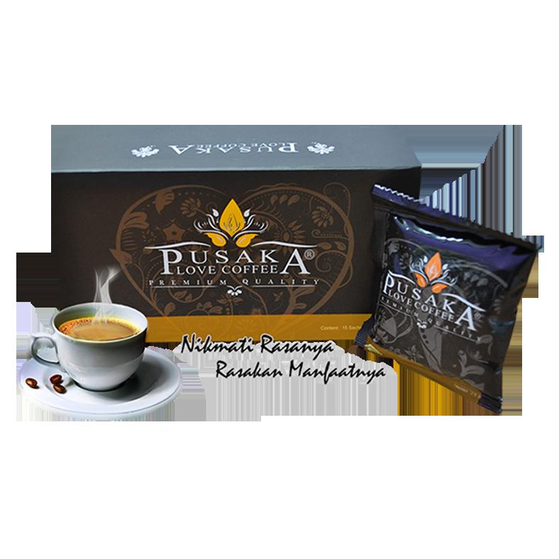 Jual kopi pusaka love coffee murah surabaya Sidoarjo