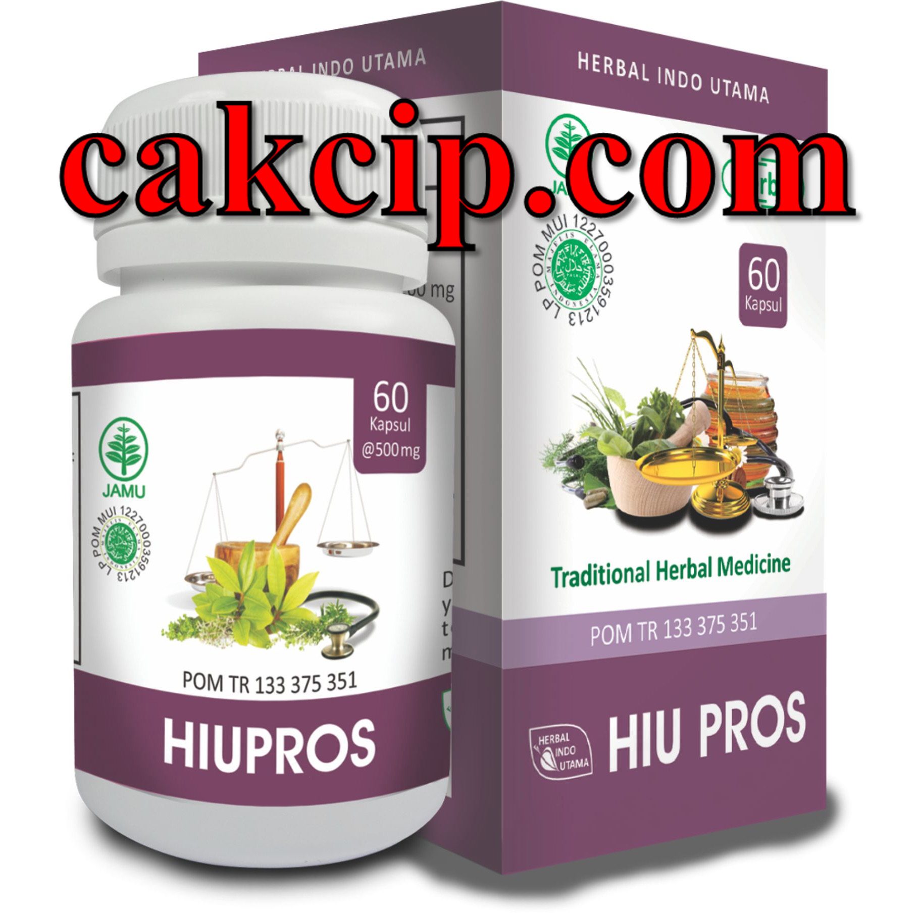 Distributor Kapsul herbal prostat hiupros
