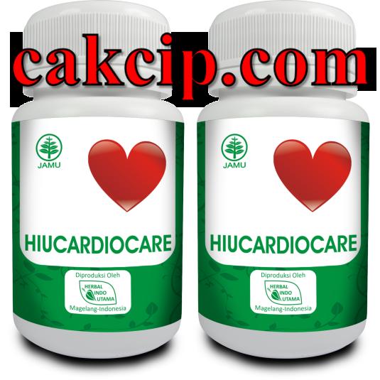 Jual Kapsul hiucardiocare untuk jantung surabaya