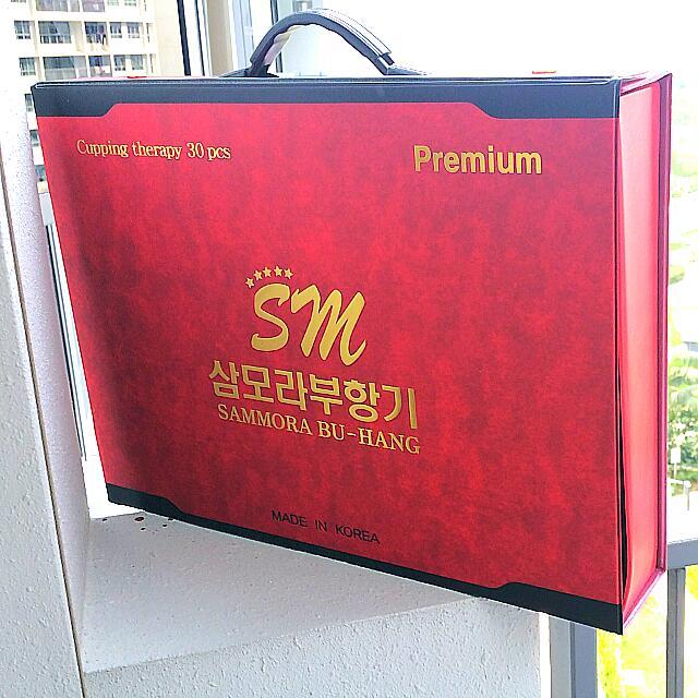 Agen alat bekam sammora korea isi 30 premium merah di surabaya