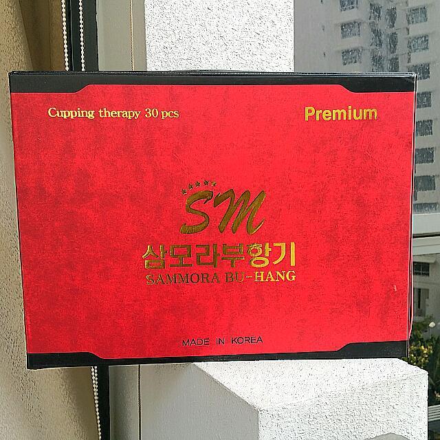 Jual alat bekam sammora korea isi 30 premium merah di surabaya malang