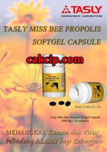 jual tasly miss bee propolis softgel