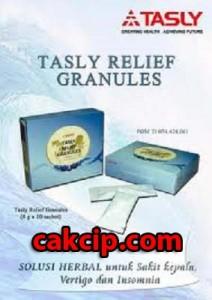 tasly relief granules herbal vertigo