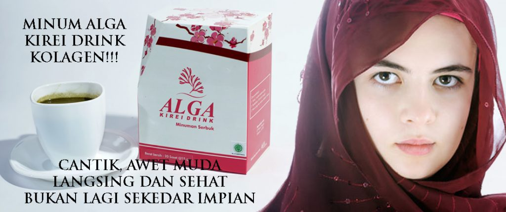 Jual alga Kirei kolagen drink Murah Surabaya Sidoarjo