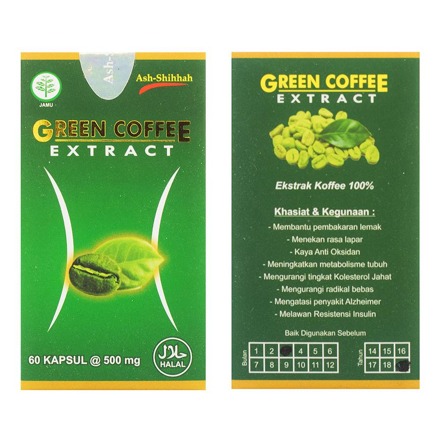 Jual Green Coffee Ash Shihhah Surabaya Sidoarjo Mojokerto