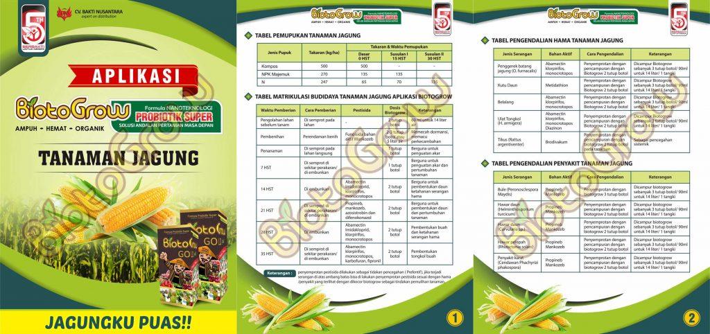 Jual Biotogrow Pupuk Organik murah Surabaya Sidoarjo APLIKASI biotogrow jagung