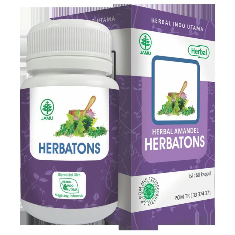 Jual Herbal Radang Amandel Cara Alami Mengobati Amandel Herbatons