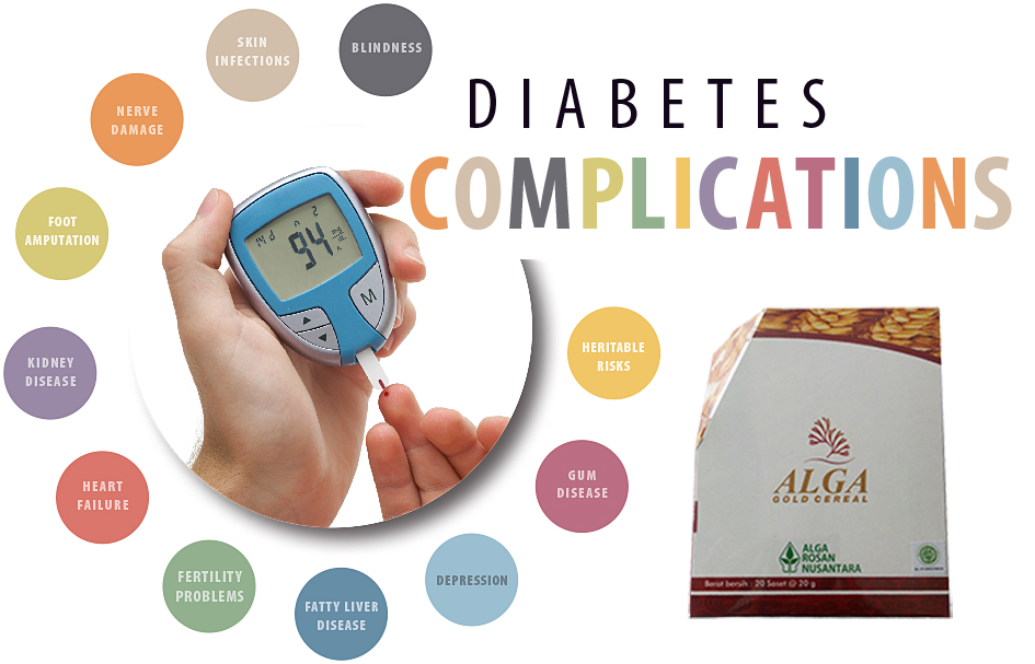 Cara Alami Mengobati Diabetes complications alga