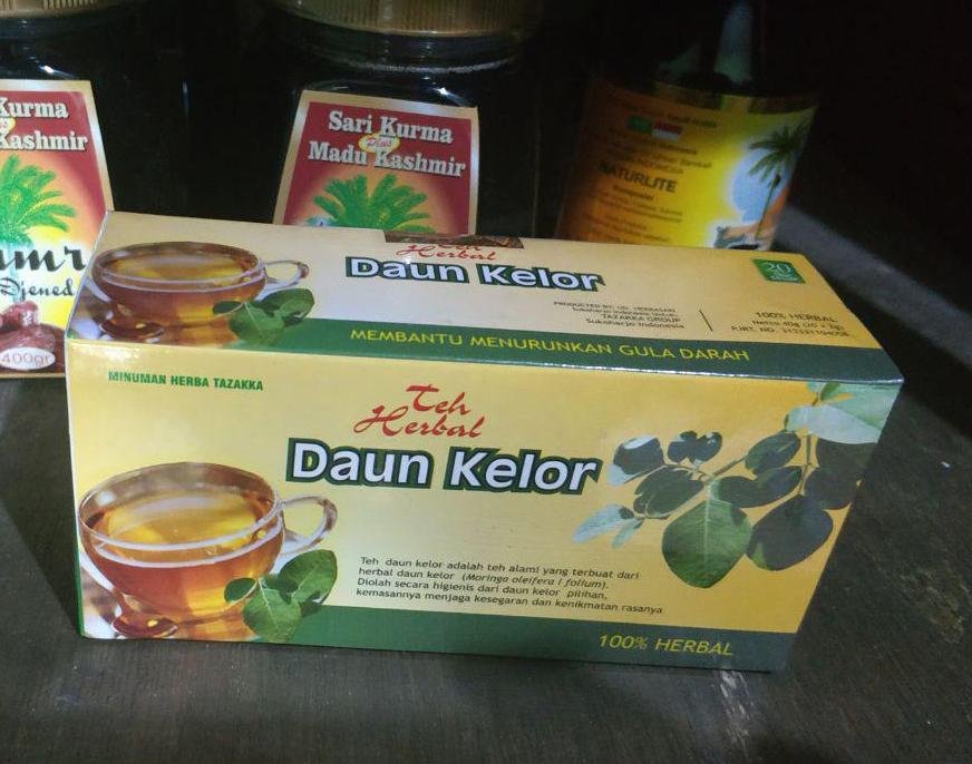 Grosir Teh Herbal DAUN KELOR Tazakka Surabaya Sidoarjo