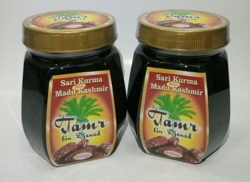 Jual Sari Kurma Tamr Bin Djened Plus Madu Kashmir Jakarta Bandung Semarang